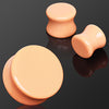 Peach Tone Saddle Plugs
