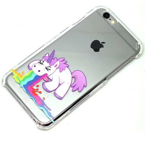 Unicorn Throwing Up Rainbow