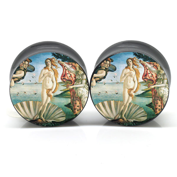 Birth Of Venus Ear Plugs - BodyJewelrySource