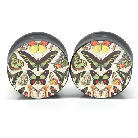Butterfly Pattern Ear Plugs