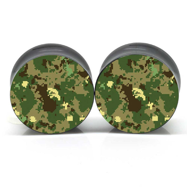 Digital Camo Ear Plugs