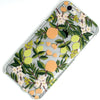 Citrus Fruit Flower Pattern