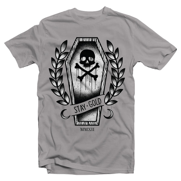 Sale - Stay Gold Coffin Shirt