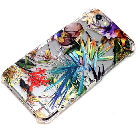 Colorful Tropic Floral Pattern