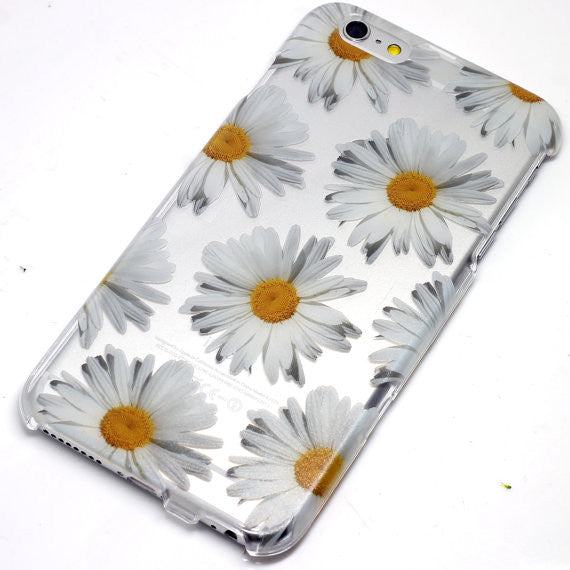 Daisy White Floral Pattern