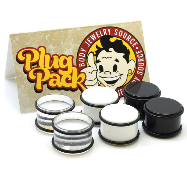 Acrylic Basic Plug Pack