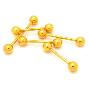 Gold Plated Barbells