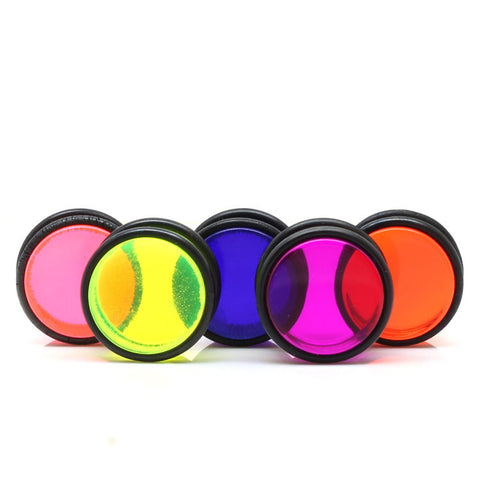 Acrylic UV Ear Plugs With Double O-Rings