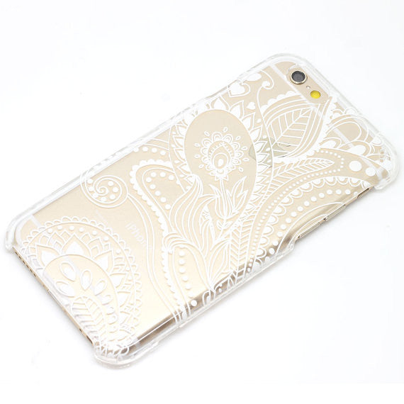 Floral Heart Paisley Pattern