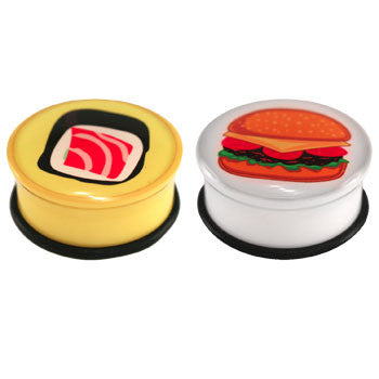 Food Design Logo Ear Plugs