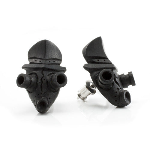 Sale Gas Mask Studs Earrings