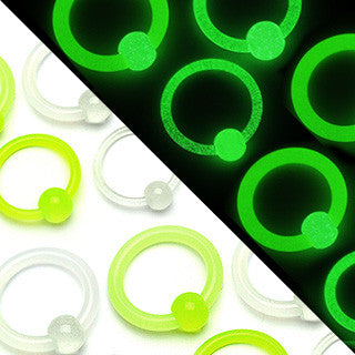 Glow In The Dark Captive Rings