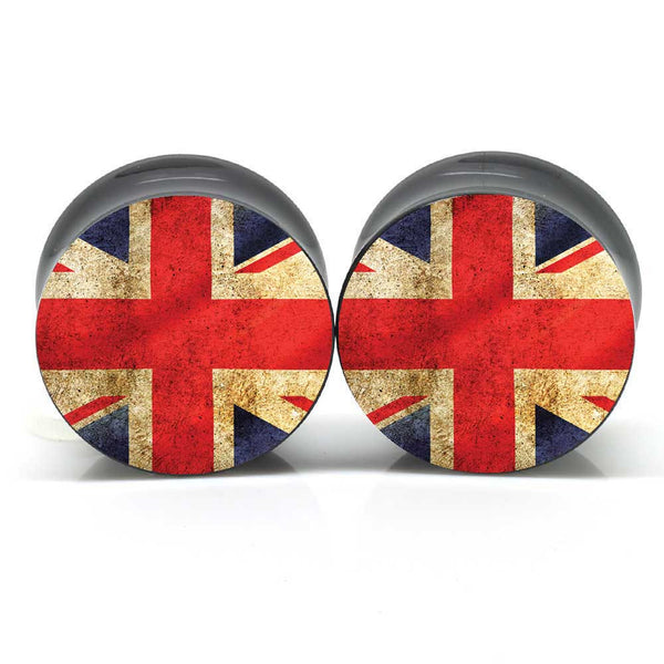 Union Jack Flag Ear Plugs