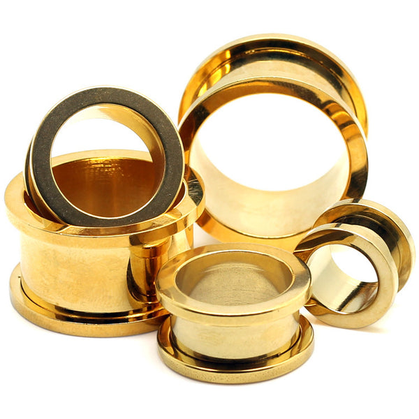 Gold Plated Flesh Tunnels