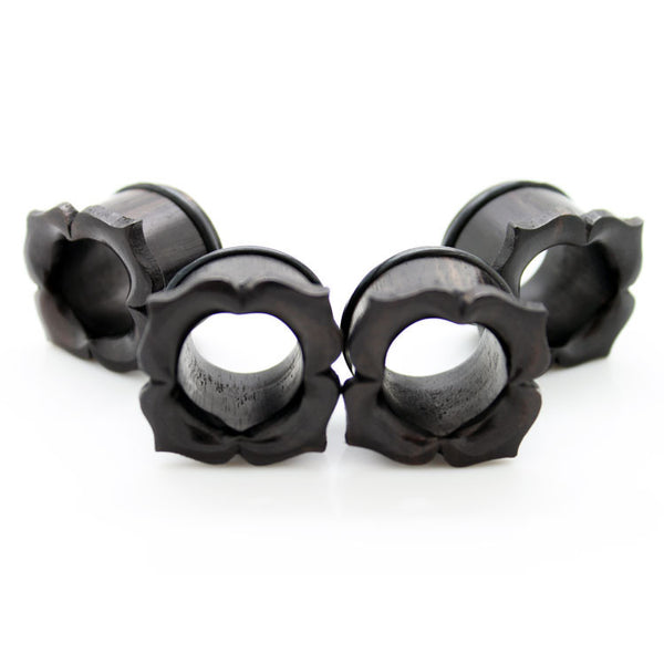 Organic Top-hat Petals Ear Tunnels