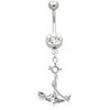 Navel ring with Anchor