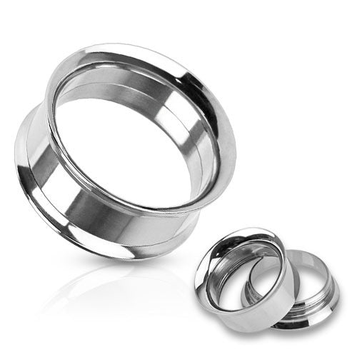 Stainless Steel Internally Threaded Double Flared Tunnels