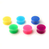 Neon Double Flared Acrylic Ear Plugs