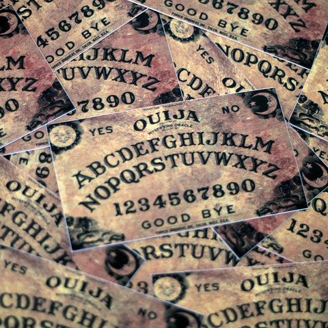 Ouija Board Die Cut Sticker