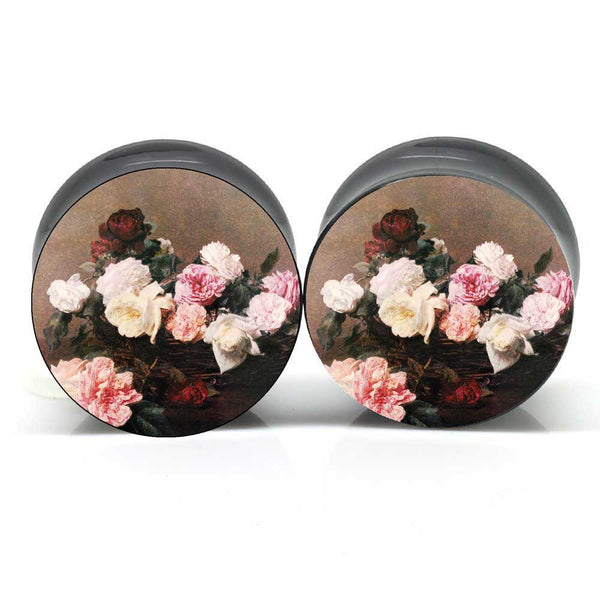 PCL Floral Ear Plugs