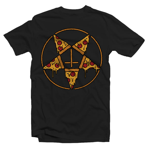 Stay Gold Pentagram Pizza Shirt