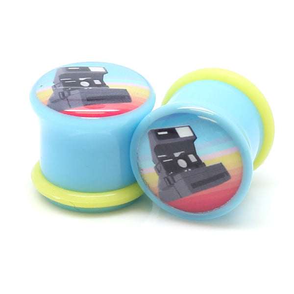 Polaroid Camera Logo Ear Plugs