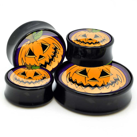 Stay Gold Jack-o-Lantern Ear Plugs