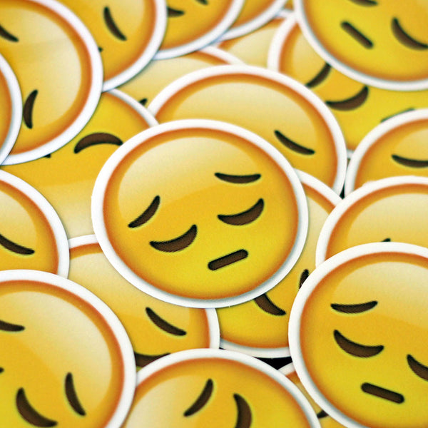 Sigh Emoji Sticker