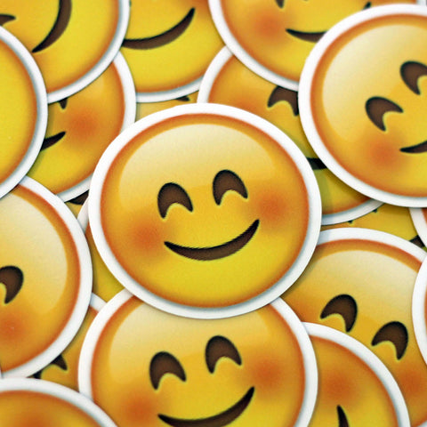 Smile Blush Emoji Sticker