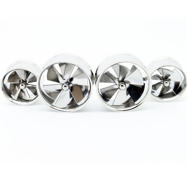 Spinner Pinwheel Ear Gauge