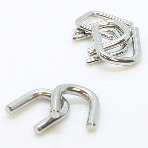 Stainless Steel Staple Septum Retainer