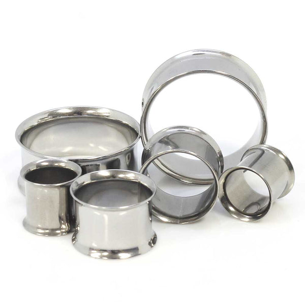 Stainless Steel Double Flared Tunnels