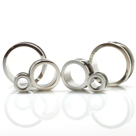 Stainless Steel Flesh Tunnels