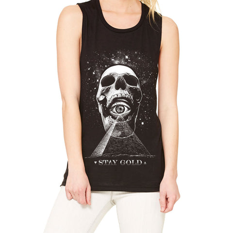 Stay Gold Women's From Within Muscle Tee