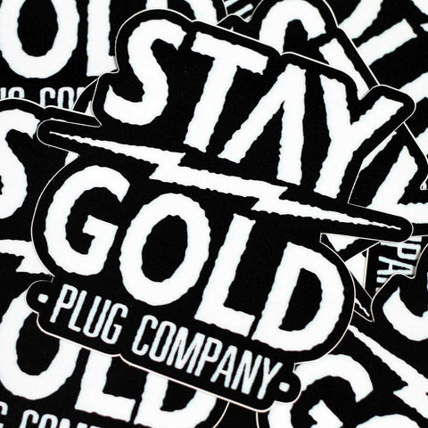 Stay Gold Lightning Sticker