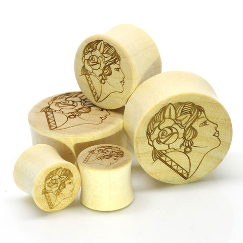 Stay Gold Organic Gypsy Girl Ear Plugs
