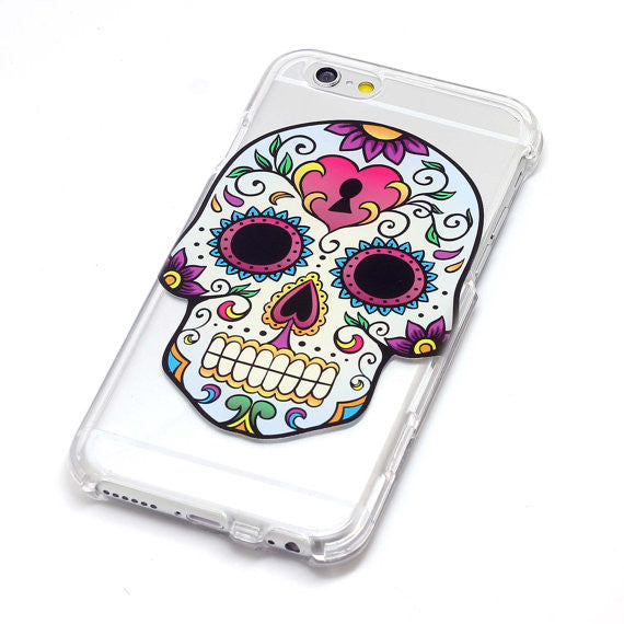 Sugar Skull With Heart Locket