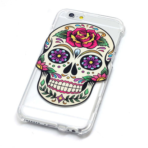 Sugar Skull With Rose