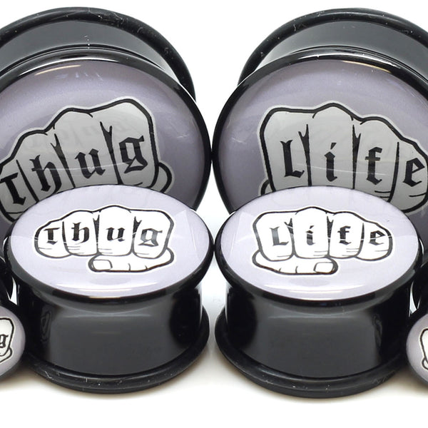 Thug Life Ear Plugs