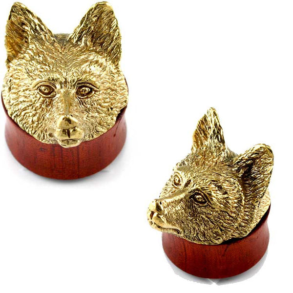Urban Star Brass Fox Ear Plugs