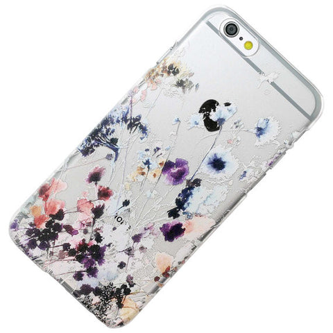 Lower Water Color Floral Flowers Pattern