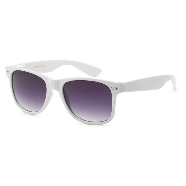 White Wayfarer Glasses