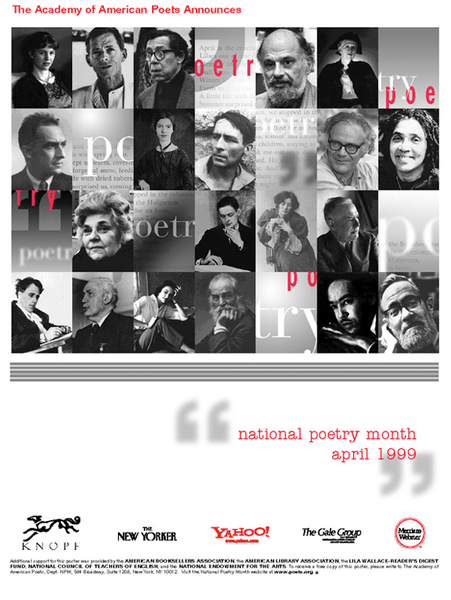 National Poetry Month Poster (1999)