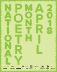 National Poetry Month Poster (2018)