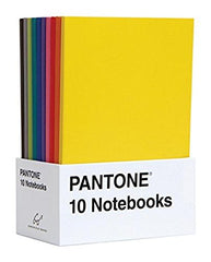 Pantone Notebooks (Set of 10)