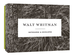 Walt Whitman Notecard Set