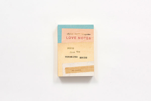 Love Notes: Poems from the Typewriter Series