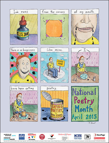 National Poetry Month Poster (2015)