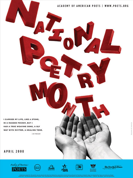 National Poetry Month Poster (2008)