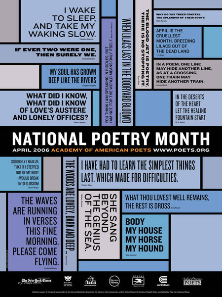 National Poetry Month Poster (2006)